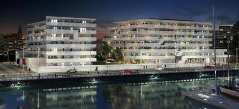 White pearl le havre bouygues immobilier