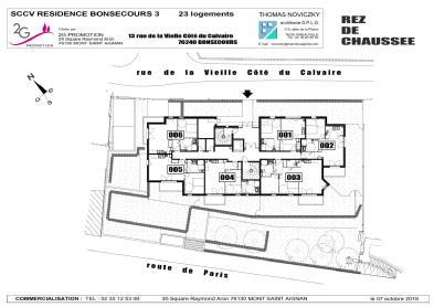 Résidence l'angelus bonsecours 2g promotion immobiliere