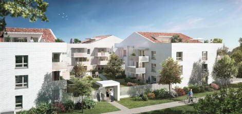 Parc romane toulouse green city immobilier