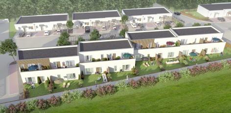 Les villas jardin - esprit city fleury sur orne foncim promotion