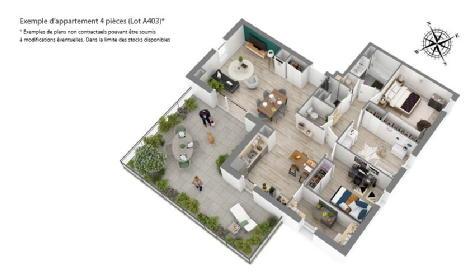 L'orée saint-marc orleans bouygues immobilier