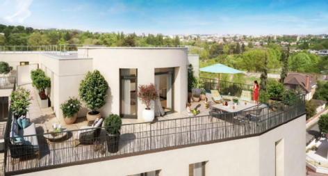 Villa chateaubriand chatenay malabry credit agricole immobilier promotion