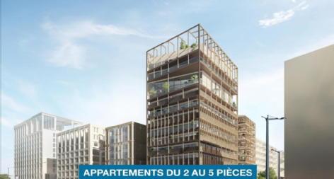 L'autre rive - appartements neufs bordeaux credit agricole immobilier promotion
