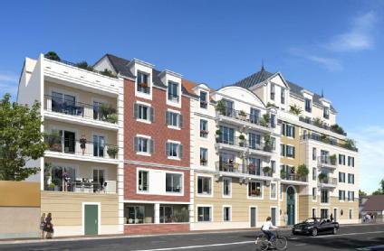 Les terrasses d'alembert le blanc mesnil les nouveaux constructeurs