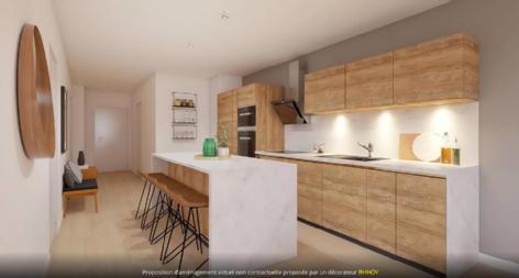 L'autre rive - appartements volumes capables bordeaux credit agricole immobilier promotion