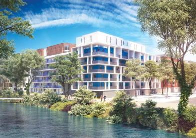 Maison-appartement neuf illkirch graffenstaden parc huron