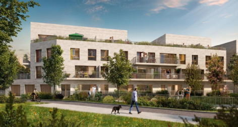 Bellarea cergy credit agricole immobilier promotion