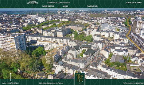 Triptyk angers sa bouygues immobilier