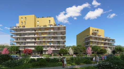 Le gaia grenoble excel invest - groupe confiance immobilier