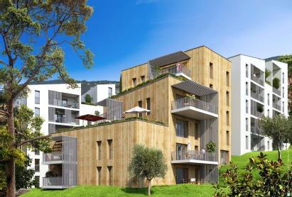 Le domaine résidentiel de l'altore ajaccio corsea promotion