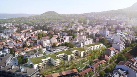 Les jardins de la tiretaine chamalieres groupe aci - cico promotion