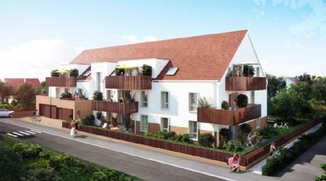 Maison-appartement neuf illkirch graffenstaden résidence davos