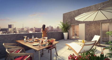 Riv'elegance 2 boulogne billancourt credit agricole immobilier promotion