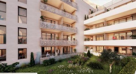 Toulon / vert coteau - le plaisir de la ville... au calme toulon pierres de collection