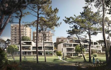 Saint herblain quartier bagatelle : environnement boisé saint herblain médicis immobilier neuf