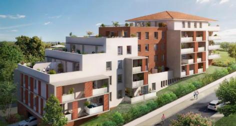 Toscani bâtiment sienne saint orens de gameville credit agricole immobilier promotion