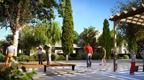 Parc crillon le pontet cifp promotion immobiliere