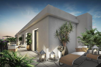 Villa d'avron rosny sous bois les nouveaux constructeurs