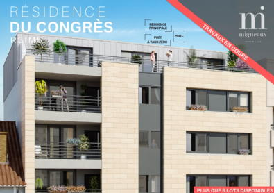 Résidence du congrès reims benoit migneaux immobilier