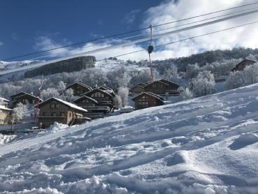 Le neiger saint martin de belleville cimalpes