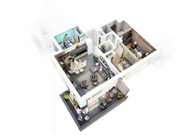 La résidence artémis chambery cristal habitat