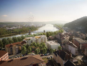 View givors sci sogeprom lyon residences