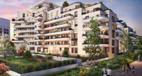 Odace ilot ovalie colombes credit agricole immobilier promotion