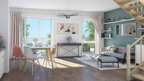 Novaïa (appartements) verson kaufman & broad immo