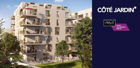 Côté jardin - lavallée chatenay malabry eiffage construction gestion et developpement e c g d