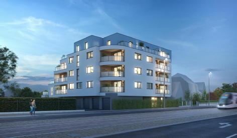 Maison-appartement neuf illkirch graffenstaden dolce vita
