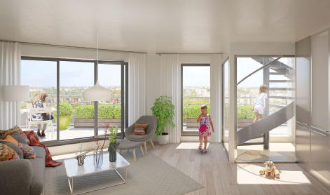 Les terrasses vertes chatenay malabry quanim immobilier