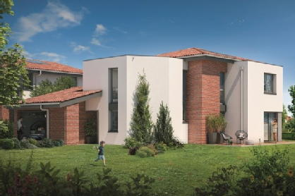 Villas valeria auzeville tolosane green city immobilier