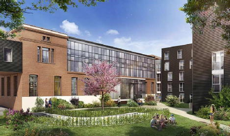 Campus saint-michel toulouse bouygues immobilier