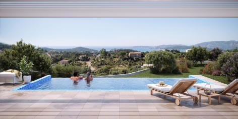 Villas orizonti sainte lucie de porto vecchio riviera realisation