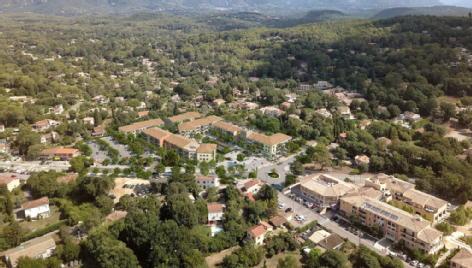 Coeur village roquefort les pins les nouveaux constructeurs