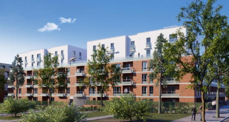 Latitude 43 toulouse credit agricole immobilier promotion