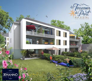 Les terrasses du port etel bernard jehanno promotion