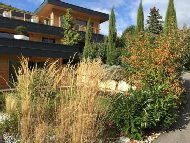 Villa contemporaine divonne les bains aquarelle immobilier