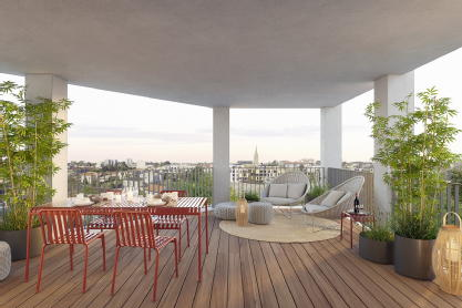 Skyline bordeaux aquitaine developpement immobilier