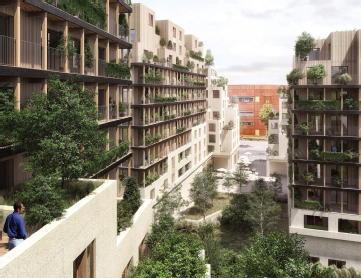 Le metropolitan rosny sous bois construction verrecchia