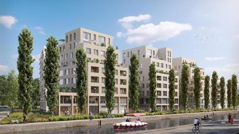 Paris canal - 165 rue de paris bobigny emerige residentiel
